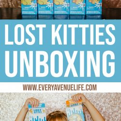 Lost Kitties Unboxing with Lexi