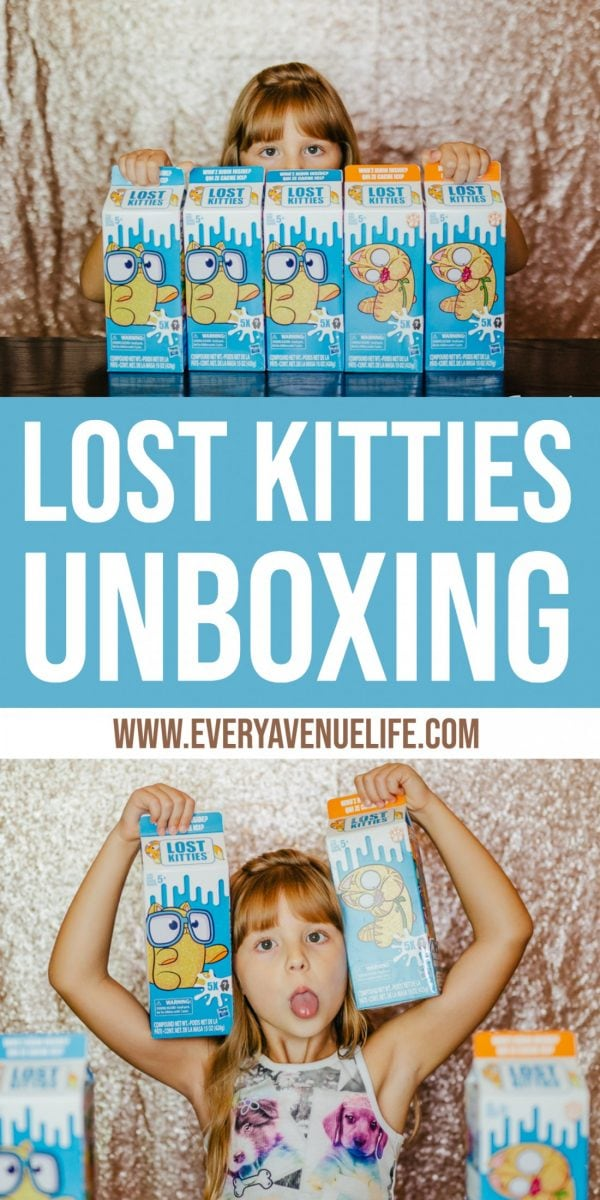 Lost Kitties Unboxing- Every Avenue Life
