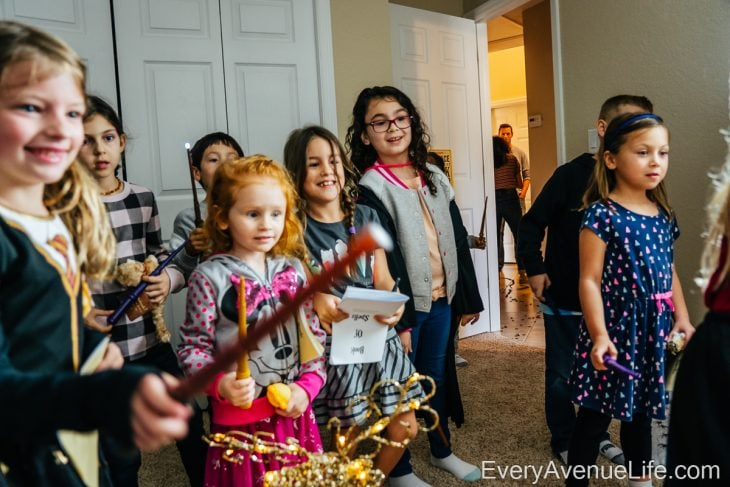 Lexi's 7th Birthday: Harry Potter Themed Party