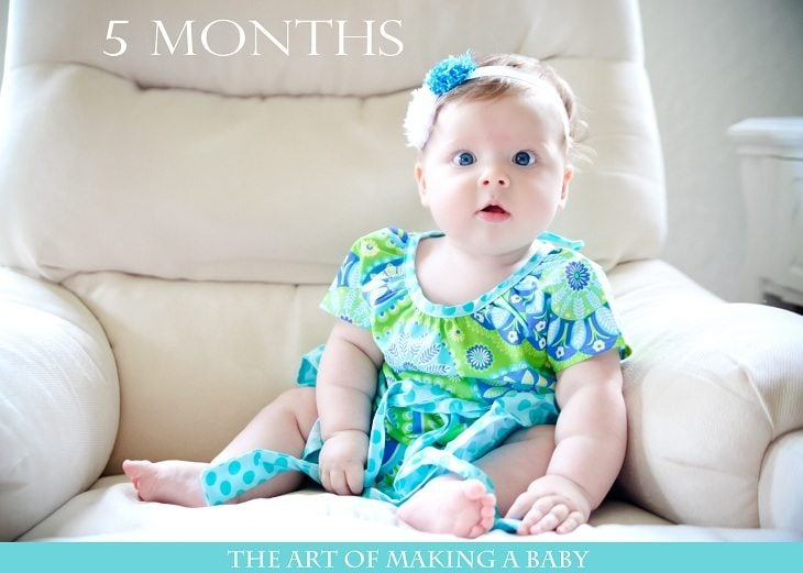 Letters To Lexi: 5 Months