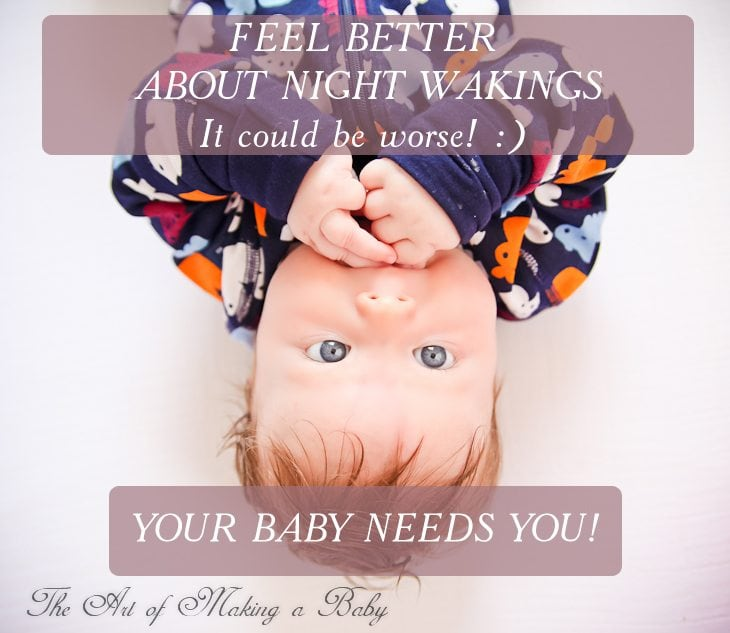 {how To Feel Better About Frequent Baby Night Wakings}