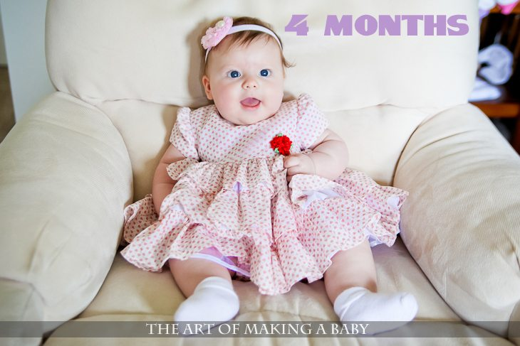 Letters To Lexi: 4 Months